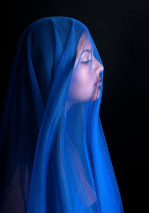 Maria-in-blue---Finn-Jacobsen---AFA