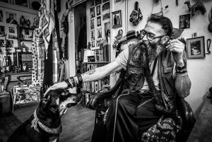 1654_Gilboa Levi_Man_and_Dog-2 Diplom Photo journalism
