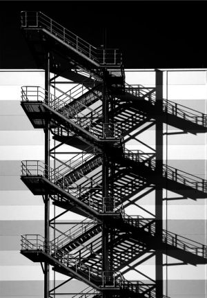 2088-John-Petersen-Stairs_and_Shadows-