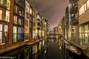 Sluseholm by cold night 2