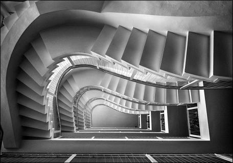 Stairs in Lyngby