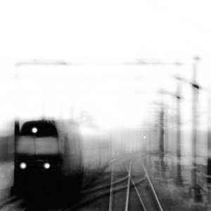 Trains in the rain