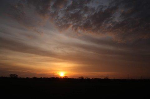 Solopgang ved Reesslev