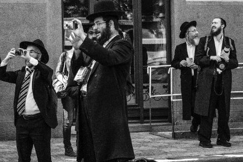 Ortodokse jøder.  Prag