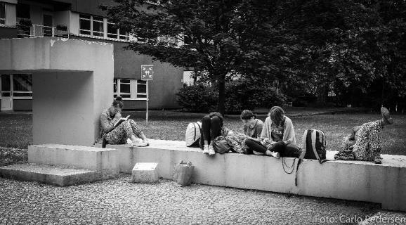 Unge mennesker. Berlin